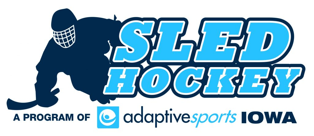 Adaptive Sports Iowa Sled Hockey logo