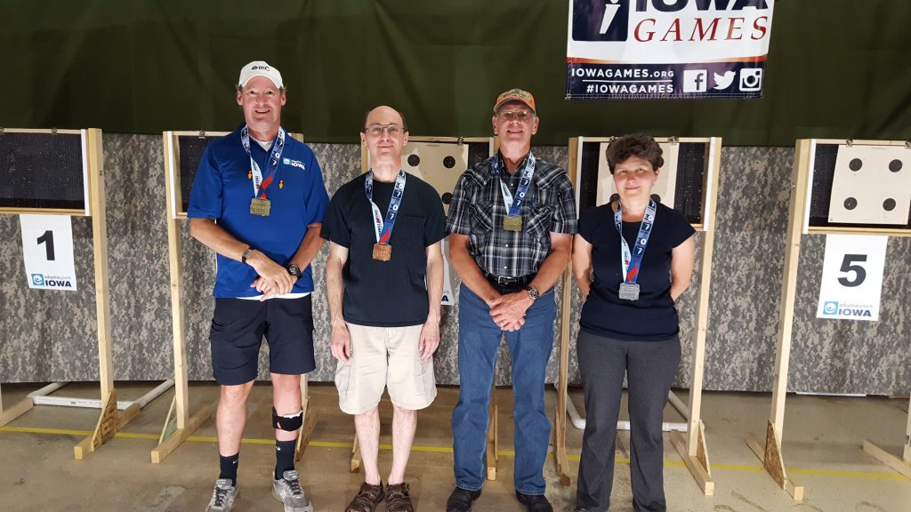 Airgun contestants