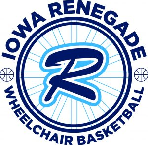 Iowa Renegade Wheelchair Basketball Logo