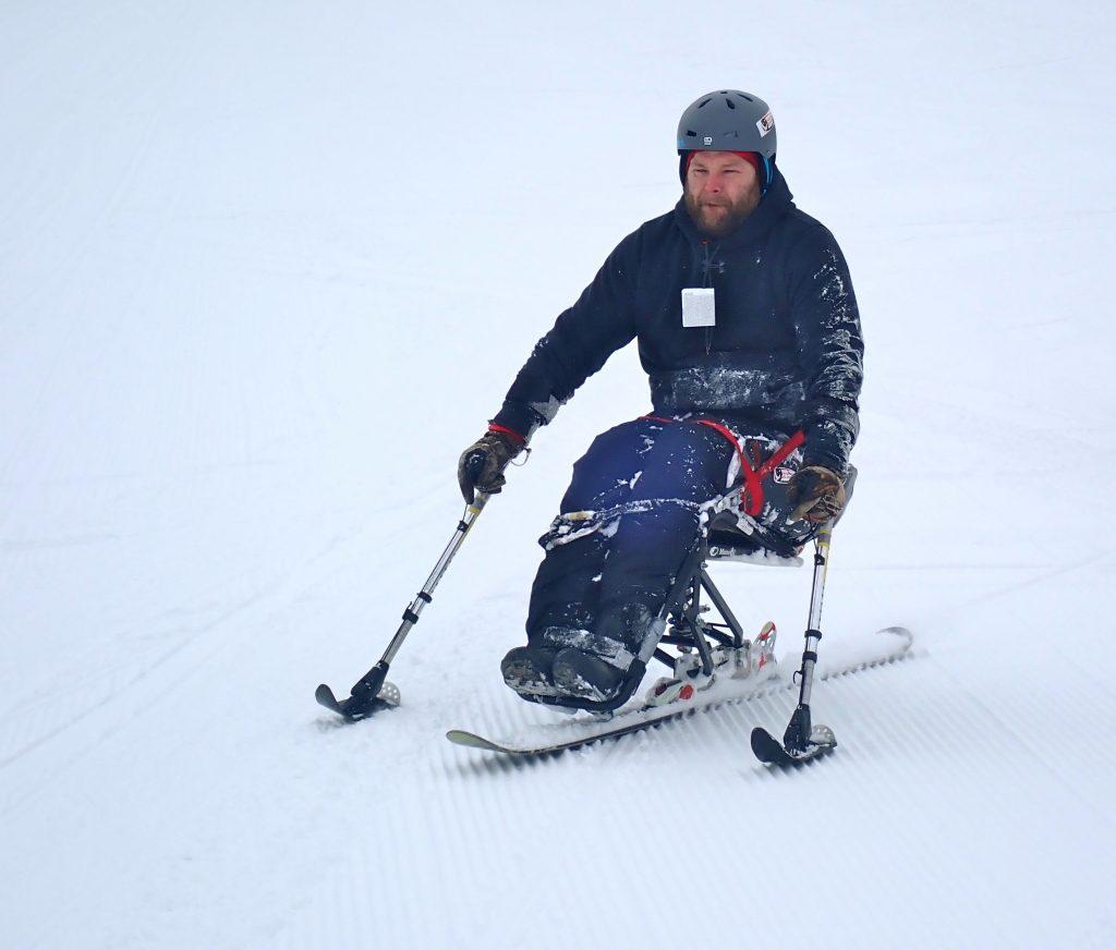 Adaptive Skier